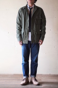 WORKERS Fatigue JKT Mod. Cotton Poplin OD-1
