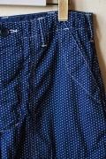 WORKERS Indigo Shorts, Polka Dot-Main