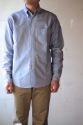 WORKERS Lot.20 Modified  Fit BD Shirt, Blue-1