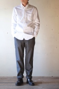 WORKERS Lot.20 Modified  Fit BD Shirt, White-1