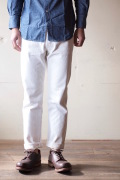 WORKERS Lot.802 Slim Tapered 13.75oz White Denim-1