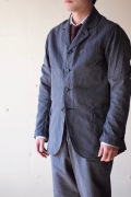 WORKERS Lt. Creole JKT 5oz Black Chambray-1