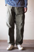 WORKERS M-65 Trousers Mod. Reversed Sateen OD-1
