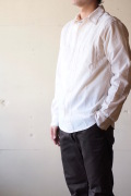 WORKERS MFG Work Shirt White Chambray-1
