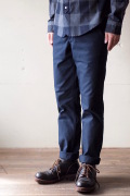 WORKERS MIL Trousers Slim Fit Heavy Serge Navy-1