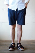 WORKERS Officer Shorts 8oz Denim-1