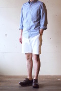 WORKERS Officer Shorts White Chino-1