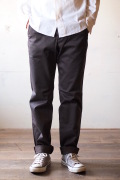 Workers Officer Trousers Slim C.Grey-1