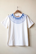 WORKERS Printed Tee Snowflake White-1