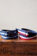 WORKERS Ring Belt. Tricolor, Navy_Blue-1