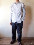 WORKERS Roos/Atkins Shirt, Gray Gingham