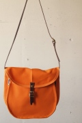 WORKERS Shell Shoulder Bag, Orange-1