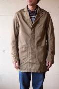 WORKERS Shop Coat 8oz Chino Beige-1