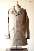 WORKERS Single T-Coat Heavy Ventile Beige-1