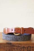 WORKERS K&TH Surcingle Belt, Tweed-MAIN