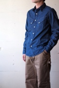 WORKERS Western Shirt Denim OW-1