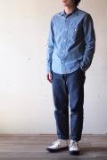 WORKERS Work Shirt 4oz Supima Cotton Chambray-1