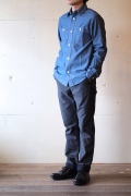 WORKERS Work Shirt, Blue Chambray-1