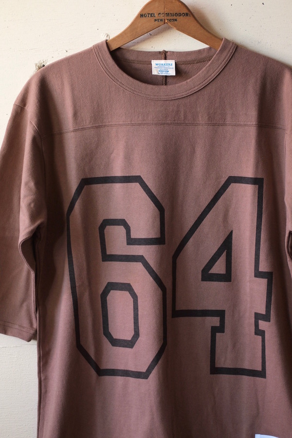 WORKERS Football Tee 64 Coyote-1
