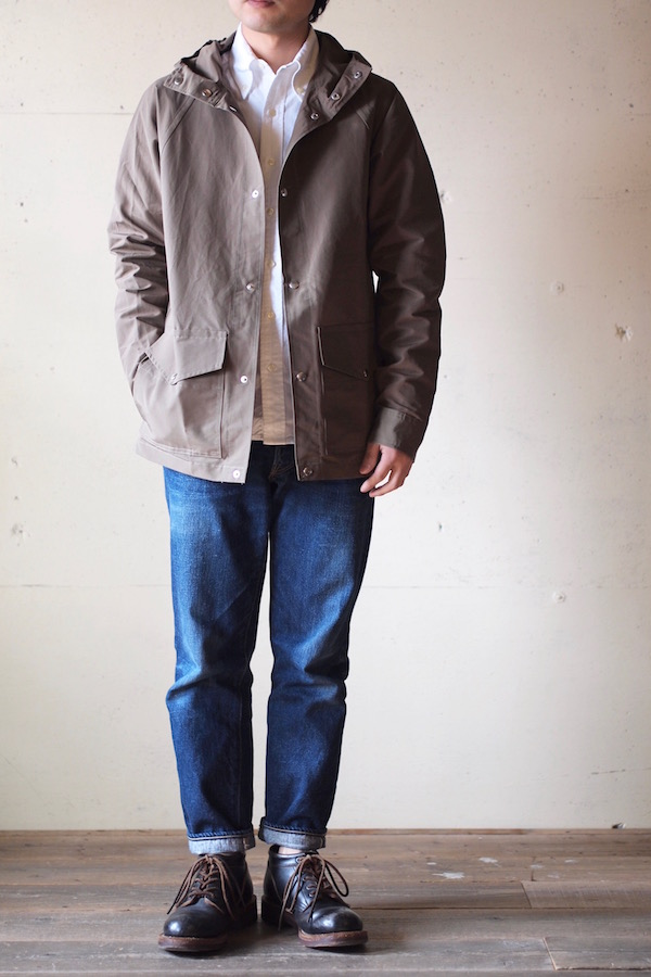 WORKERS Mountain Shirt Parka 60/40 Cloth Khaki-1