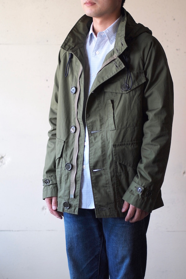 WORKERS RAF PARKA Ventile Cotton OD-1
