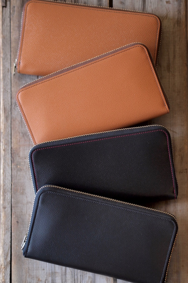 WORKERS Round Zip Long Wallet Noblessa Calf-1