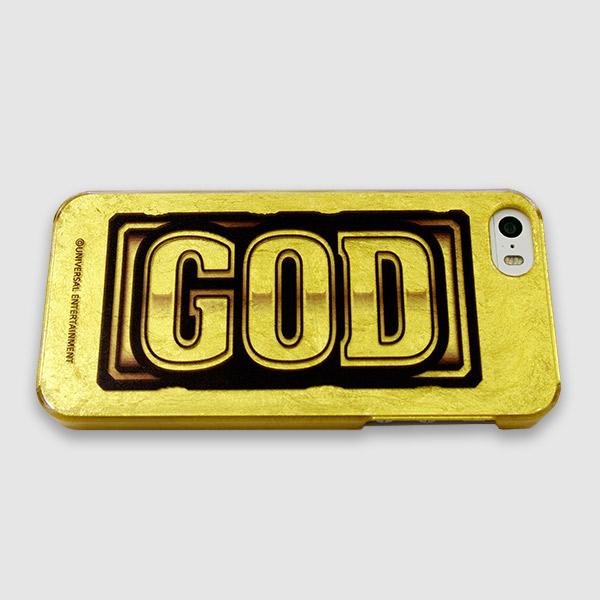 金箔ケース - GOD