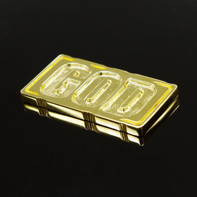 [販売終了]【限定3点】ミリオンゴッド ゴールドプレート(K18)※抽選販売商品