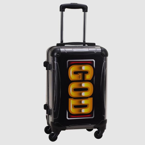 【着せ替えスーツケース】MILLION GOD