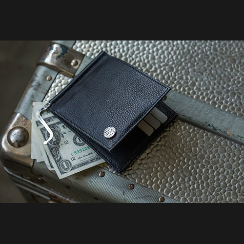 【4周年記念セール】【sevens】money clip - black