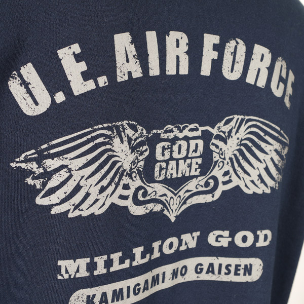 【パーカー】【AO TAG】【ミリタリー】MILLION GOD-AIR FORCE