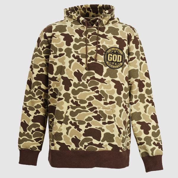 【パーカー】【AO TAG】【ミリタリー】MILLION GOD-camouflage