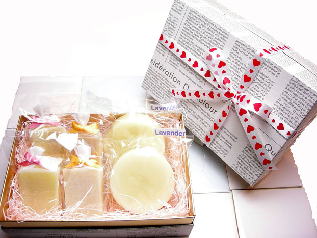 手作り石鹸アンティアン130226今週のキャンペーンホワイトデーギフト写真