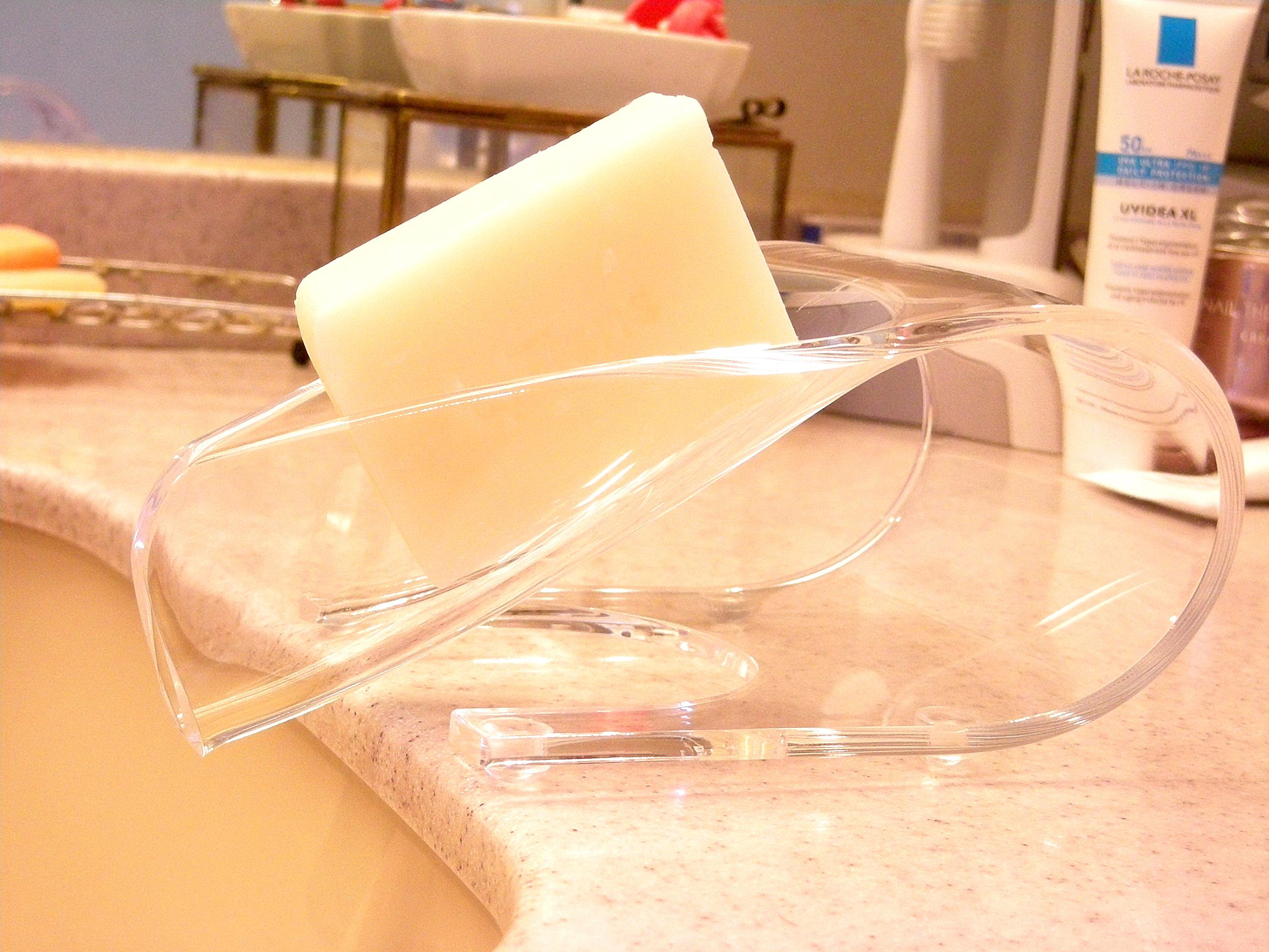 手作り石鹸アンティアン置型ソープサーバー写真