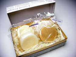 アンティアンの手作り石鹸ギフトセットスーパーササボン4種入り写真
