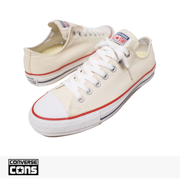 CONS CTAS PRO OX NATURAL | WHITE | RED / CONVERSE SB コンバース
