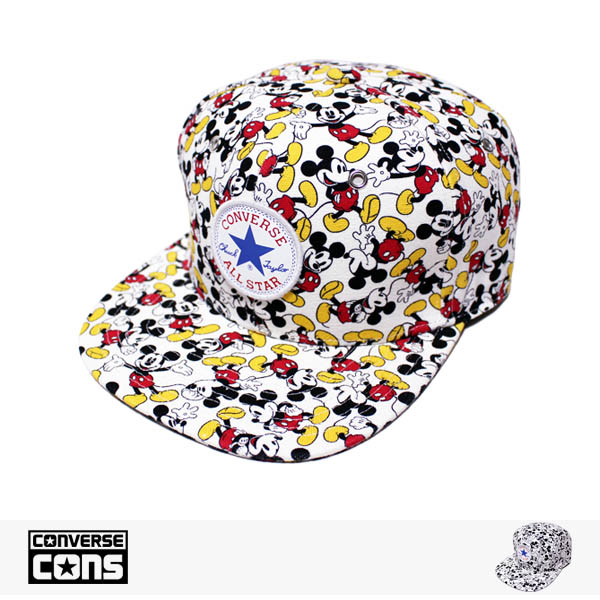 CONVERSE MICKEY MOUSE SNAPBACK CAP / コンバース キャップ