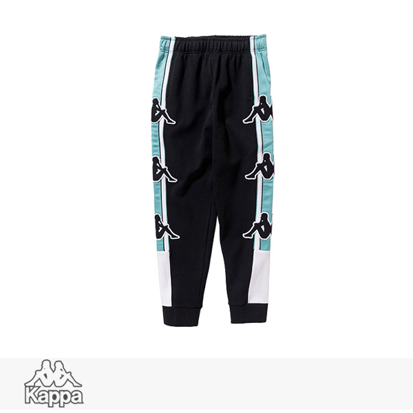 2018 S/S KAPPA BANDA COLLECTION SWEAT PANTS | BLACK / カッパ パンツ