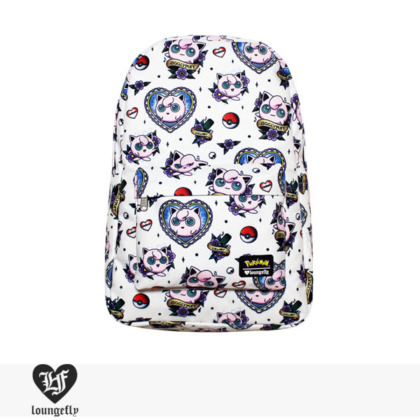 LOUNGEFLY × POKEMON JIGGLYPUFF TATTOO FLASH BACKPACK / ラウンジフライ バッグ