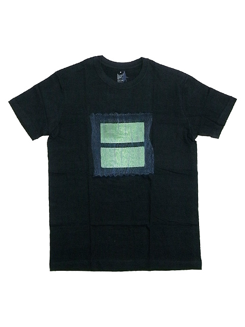 SLUDGE HAND PRINT T-SHIRTS 001TEE BLACK