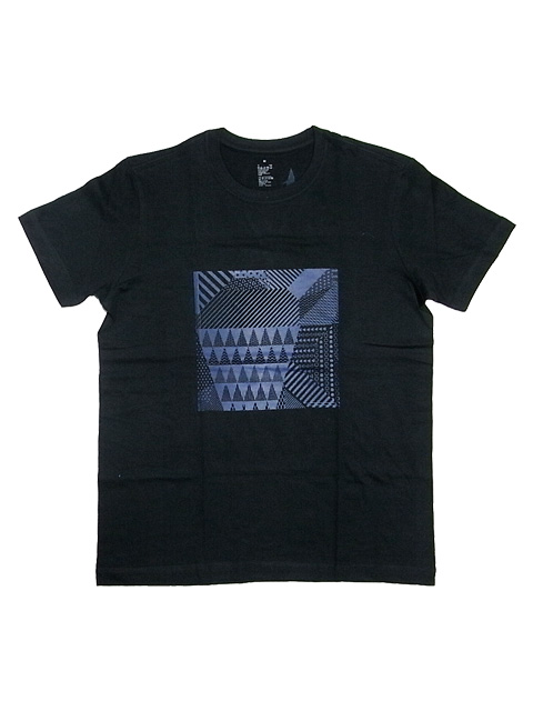 SLUDGE HAND PRINT T-SHIRTS 002TEE BLACK
