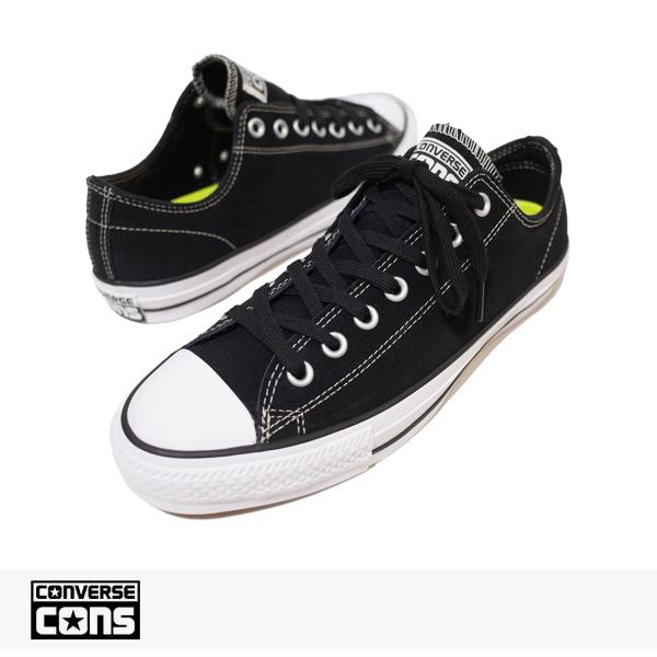 CONS CTAS PRO OX BLACK | WHITE / CONVERSE SB コンバース