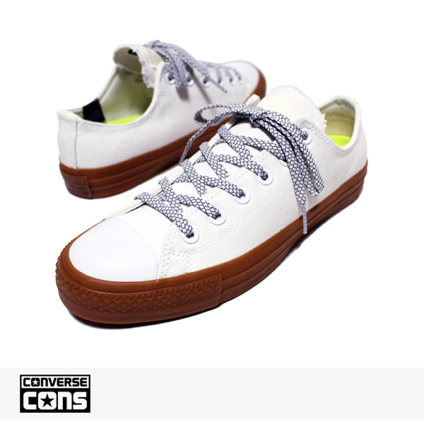 CONS CTAS PRO SHIELD CANVAS OX WHITE | EGRET | GUM / CONVERSE SB コンバース