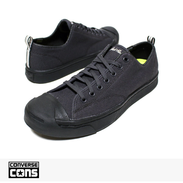 CONS JACK PURCELL M SERIES CANVAS OX ALMOST BLACK | BLACK | BLACK / CONVERSE SB コンバース【ハロウィン10%OFFクーポン対象】