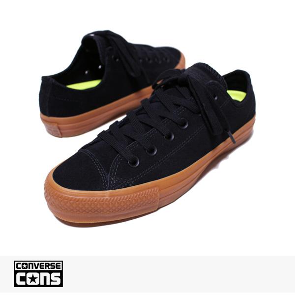 CONS CTAS PRO OX BLACK | BLACK | GUM / CONVERSE SB コンバース