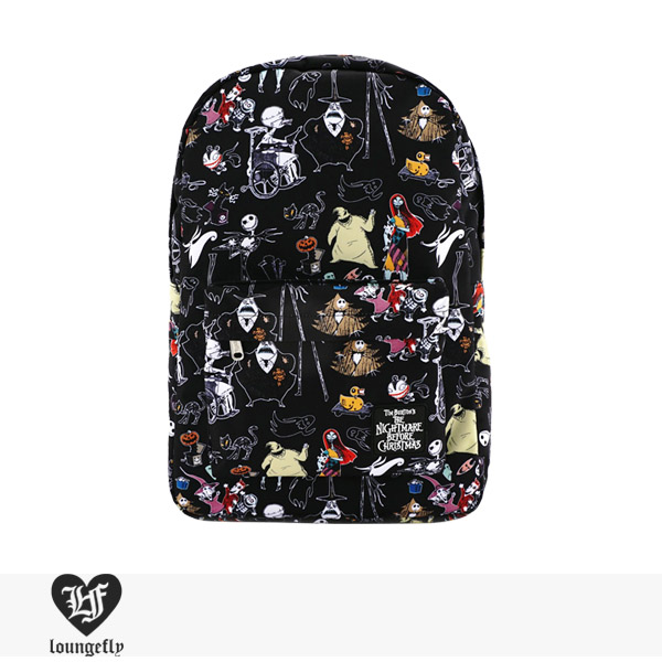 LOUNGEFLY × DISNEY NIGHTMARE BEFORE CHRISTMAS CHARACTER BACKPACK / ラウンジフライ バッグ