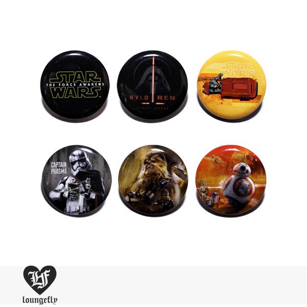 LOUNGEFLY × STAR WARS TFA PIN 【D】 / ラウンジフライ 缶バッチ