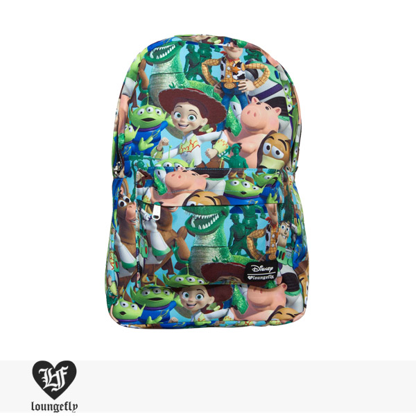 LOUNGEFLY × DISNEY TOY STORY CHARACTER PRINT BACKPACK / ラウンジフライ バッグ【送料無料対象】