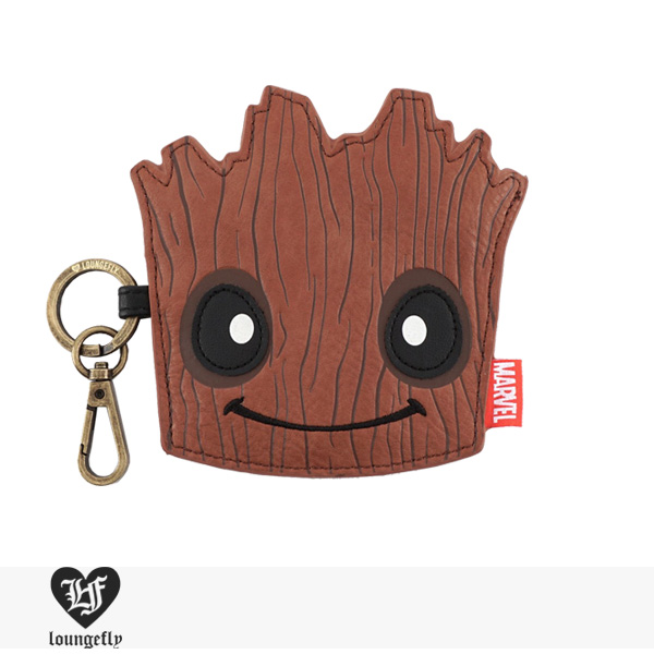 LOUNGEFLY × MARVEL GROOT COIN BAG / ラウンジフライ コインケース