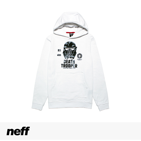 NEFF × STAR WARS DEATH BEACH HOODIE / ネフ パーカー 【送料無料~2/24 14:00】